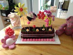 Gâteau jardinière - gâteau jardin - gâteau anniversaire - birthday cake - garden cake