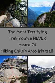 When it comes to trekking in Chile, it's the routes around Torres del Paine National Park that seem to get all the love.  But, hiking Chile's Arco Iris trail currently reigns with many superlatives for us. The trek up Cerro Arco Iris was definitely the most challenging one-day hike we've ever been on, without question the most technical, and certainly one of the most stunning!