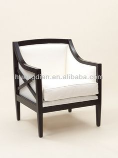 Elegant Bedroom Chair Sale Hotel Room Chair Living Room Chair Modern Wooded Chair  With Arm Modern Furniture