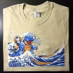 blastoise tshirt
