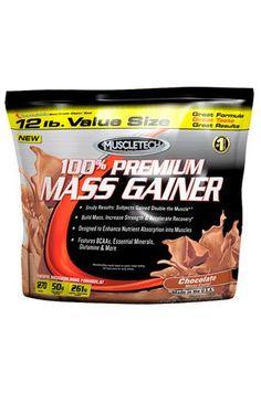 Disponible ya el 100% PREMIUM MASS GAINER de Muscletech, es el nuevo suplemento ganador de peso de la prestigiosa marca Muscletech.    Su fórmula nos brinda por servicio 1.270 calorías, que incluyen 53 gramos de proteína de alta calidad y 262 gramos de carbohidratos que proveen de energía a todas las células del cuerpo.    http://www.fitnesskit.com/product.aspx?p=4202=14=0=1=ES    #GanadoresDePeso #Gainers