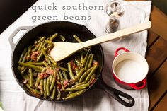 Quick Southern Green Beans - Chattavore
