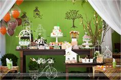 Nature Bird Themed Little Birdie Party - Kara's Party Ideas - The Place for All Things Party