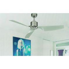 Ventilador de Techo con mando - ai17 Ceiling Fan, Home Decor, Silent E, Decoration Home, Room Decor, Ceiling Fan Pulls, Ceiling Fans, Home Interior Design, Home Decoration