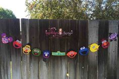 Sesame Street Banner 8 Characters Sesame by BrandalynsBowtique Boys 1st Birthday Party Ideas, Third Birthday, 1st Boy Birthday, Happy Birthday Banners, First Birthday Parties, Sesame Street Signs, Sesame Street Party, Sesame Street Birthday, Street Banners