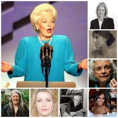 The Eloquent Woman: 8 famous speeches by women speakers about (yes) women speakers