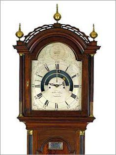 ✿ڿڰۣ(̆̃̃•Aussiegirl  Nantucket cabinetmaker Heman Ellis, and Walter Folger Jr., who made the 1790 astronomical tall-case clock frequently cited as one of the most important American clocks to have been made during the days of the early republic,