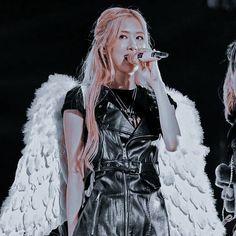 Ysl, Black Pink, Fur Coat, Jackets, Queens, Angel, Park, Concert, Fashion