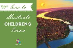 Five Tips About Illustrating Childrens Books - http://community.wacom.com/en/inspiration/blog/2014/june/five-tips-about-illustrating-childrens-books/ Wacom Community #90tips