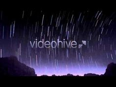 Stock Footage - Night Star Time Lapse