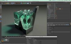 Creating Glass Sculptures In Cinema 4D Part 3