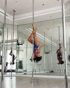 Pole Dance Moves, Pole Dancing Fitness, Pole Fitness, Barre Fitness, Fitness Exercises, Workouts, Aerial Hoop, Aerial Silks, Pole Classes