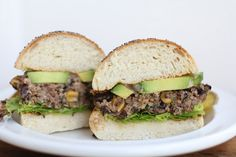 Black Bean & Quinoa Veggie Burgers- It requires and egg but I am sure we can work around that.