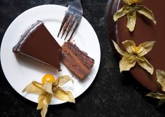 Sacher torta Hungarian Desserts, Hungarian Recipes, Hungarian Food, Recipe Boards, Cakes And More, Chocolate Fondue, Allrecipes, Keep It Cleaner, Waffles