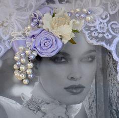 Svatební spona do vlasů Purple nostalgia   Zboží prodejce kultdesign 8c4cd77c28