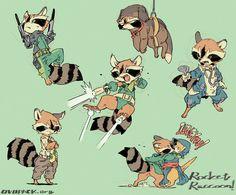 ロケット!ロケット! ゚∀゚)o彡゚  コミック版の方で出てくるロケットのコスプレ服装いろいろ。