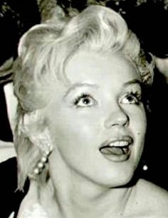 """Marilyn at a press conference for """"The Prince and The Showgirl at the Plaza Hotel, New York, February 9th 1956."""