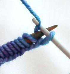 Přidávání ok na pletenině