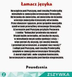 Zdjęcie Polish Words, Polish Language, Scary Funny, Life Humor, Teaching Tips, Self Development, Really Funny, Good To Know, Quotations