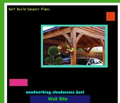 Self Build Carport Plans 231745 - Woodworking Plans and Projects!