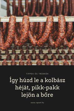 Lássunk néhány trükköt! #kolbász #konyhaitrükk
