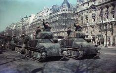 Bundesarchiv N 1576 Bild-007, Paris, Parade deutscher Panzer - Paris sous l'Occupation allemande — Wikipédia