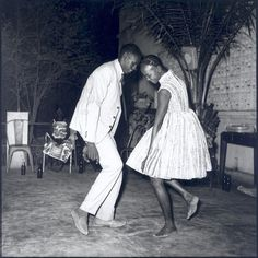 Christmas Eve, Happy Club (Bamako, Mali), a photo by Malick Sidibe, 1963