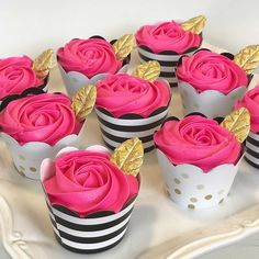 Kate spade themed cupcakes for a beautiful baby shower! Barbie Birthday, Barbie Party, 40th Birthday Parties, Sweet 16 Birthday, Diy 60th Birthday Decorations, 2nd Birthday, Birthday Ideas, Birthday Gifts, Happy Birthday