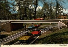 Turnpike Ride at Kings Island Cincinnati Ohio - Turnpike Ride: Mod sports cars rev up and spin out over a thrilling racetrack in the Happy Land of Hanna-Barbera Dexter Press, Inc