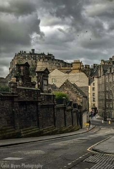 Candlemaker Row, Edinburgh, Scotland