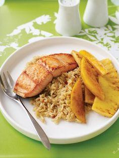 Super Easy -  Pineapple Mango Salmon