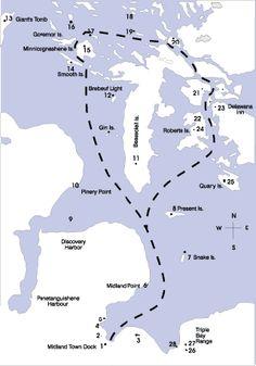Miss Midland 30,000 Islands Boat Cruises Muskoka-Georgian Bay Midland. Ontario