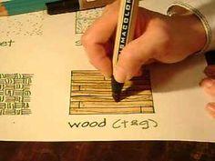 Wood Hand Rendering Tutorial