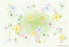 Free high quality design Stitch pattern flowers for Presentation templates with resolution. Elegant Flowers, Tiny Flowers, Green Flowers, Amazing Flowers, Colorful Flowers, Wallpaper Pc, Abstract Flowers, Presentation Templates, Flower Patterns