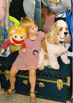 Doing dog therapy work with children and seniors.  Can do reading programs with dogs and children now too.