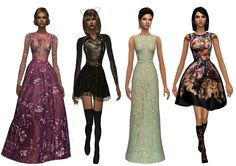 Sims2City: Some designer outfits