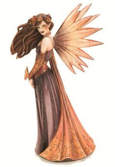 Autumn Splendor Fairy Figurine - $24.99 - This fall beauty will bring about thoughts of crisp air and the scents of spice!
