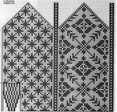 Vottepar nr 45 - - Dei siste tre åra har eg ført eit lite regnskap over votter eg har strikka og hvem eg har gittt vottene til. Og denne veka runna eg vottepar nummer Vottene er sjølvsagt strikka i Rauma finull. Knitted Mittens Pattern, Fair Isle Knitting Patterns, Loom Knitting, Knitting Socks, Baby Knitting, Drops Design, Dragon Cross Stitch, Norwegian Knitting, Sharpies