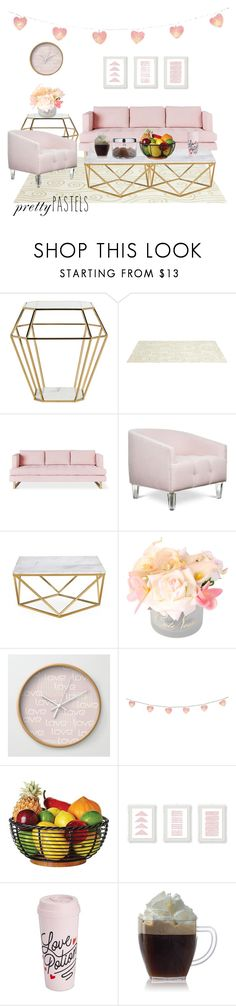 """""""Dollhouse"""" by magriatrix ❤ liked on Polyvore featuring interior, interiors, interior design, home, home decor, interior decorating, Safavieh, Somerset Bay, Gus* Modern and ban.do"""