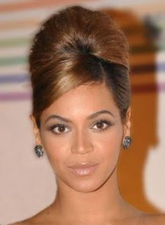 1960s updo hairstyles   1960's Hairstyles Then and Now