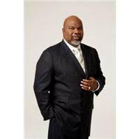 """""""Live life on the edge,"""" said Bishop T.D. Jakes."""