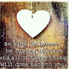 Be kind beauties, be honest, be loving, be true, and all of these things will come back to you... ❤ XoXo WYNK* #wynkboutique #true #kind #life #goodkarma #quoteoftheday #monday #love #style #quotes #latersbaby#