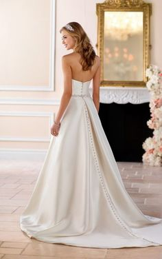 6446 Structured Ball Gown with Pockets by Stella York