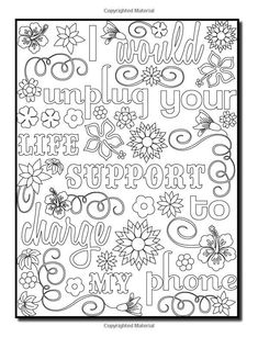 Funny Adult Coloring Books - √ 32 Funny Adult Coloring Books , Funny Adult Coloring Pages Free to Print Coloring Pages For Grown Ups, Love Coloring Pages, Printable Adult Coloring Pages, Coloring Books, Colouring Pages For Adults, Coloring Stuff, Kids Coloring, Free Coloring, Coloring Sheets