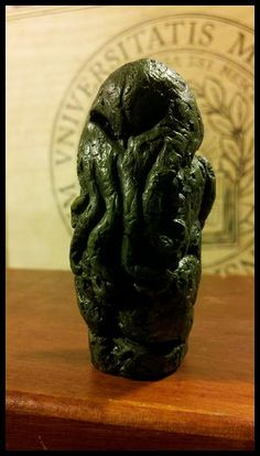 Professor George Angell's Cthulhu idol, Miskatonic University Special Collections