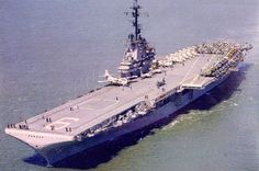 """USS ESSEX CV-9 involved in the Cuban Missile Crisis BAY OF PIGS 1961, 1 of 3: In April 1961, Essex steamed out of Naval Station Mayport, Florida on a two-week """"routine training"""" cruise, purportedly to support the carrier qualification of a squadron of Navy pilots. Twelve A4D-2 Skyhawks had been loaded aboard, the aircraft, pilots and support crews all from attack squadron VA-34, the Blue Blasters. http://en.wikipedia.org/wiki/USS_Essex_(CV-9)"""