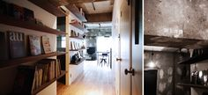 Industrial Apartment in Japan | The Hall Way