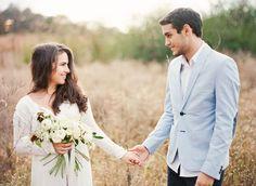 Tulle & Grace | White Wedding | Blue Suit | Organic Film | Fine Art Film | Engagement | Elopement Photography