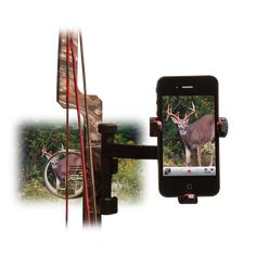 Gear JackKnife Smartphone Crossbow iPhone, Samsung, Galaxy Bow Mount for Filming your Hunt Hunting Camo, Hunting Girls, Archery Hunting, Hunting Stuff, Coyote Hunting, Turkey Hunting, Outdoor Fun, Outdoor Gear, Outdoor Life
