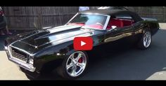 1969 Chevy Camaro Convertible - Sick Pro Touring Muscle Car with Insane Custom Interior. Double Click to Watch
